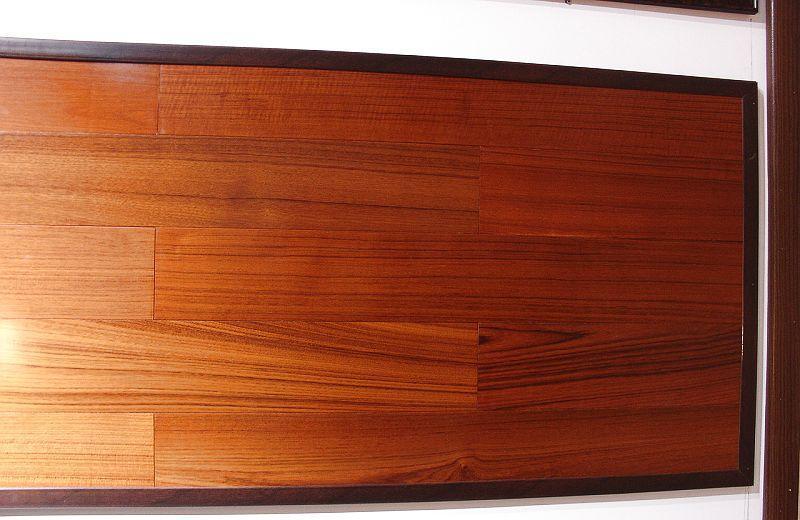 福人实木复合地板泰柚(910*127mm)<br />泰柚