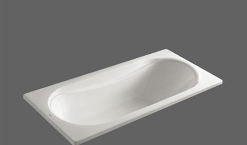 美加华压克力无裙浴缸M-1522(塑料浴缸去水1个)M-1522