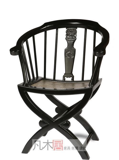 凡木居现代中式系列A2006元宝椅CT17A2006