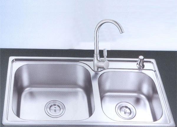 御象厨电促销套餐水槽801+龙头SE-C801+SE-C