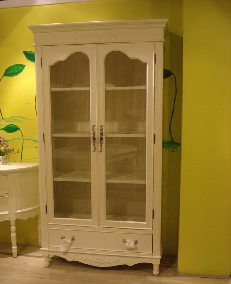 树之语二门书柜白色梦想系列MX307MX307