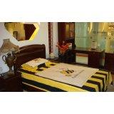 光明实木卧室家具系列-086单人床