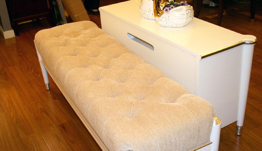 美凯斯MC180 双人床+床尾凳MC180