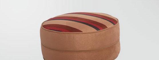 麦斯得尔小组件系列托比圆墩r01棕色条纹r01
