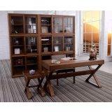 书桌+活动架,书柜+书柜