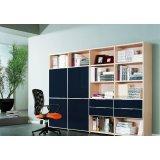 耐特利尔原橡木系列蓝色彩釉书柜