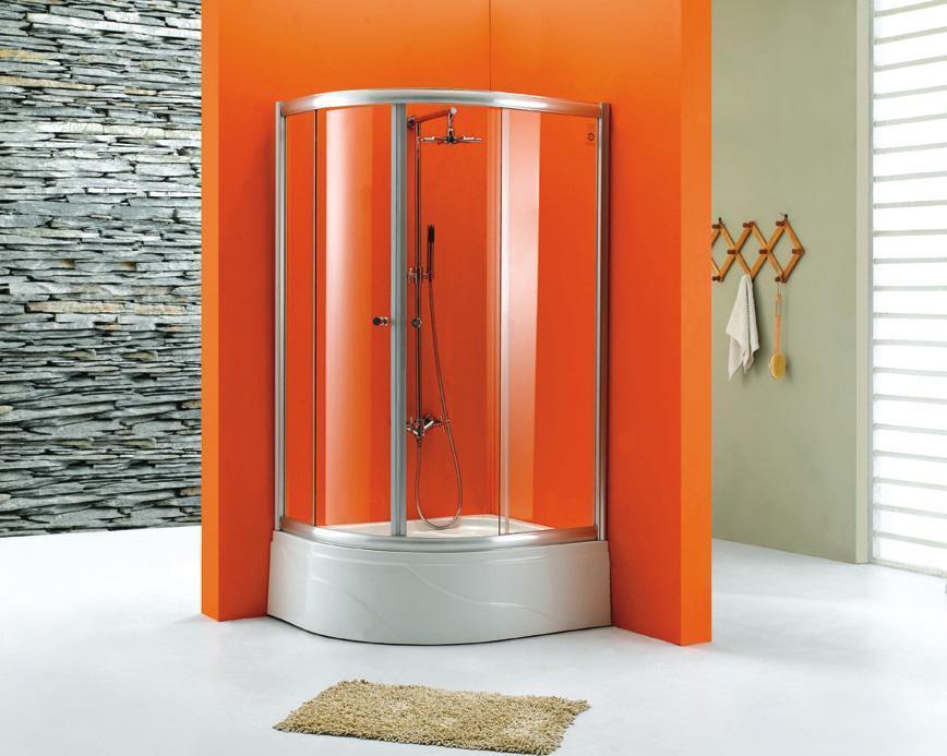 卫欧卫浴玻璃淋浴房VG-539VG-539
