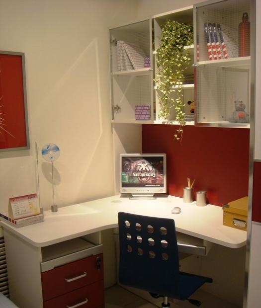 多喜爱彩色儿童家具-组合书柜8G118G11