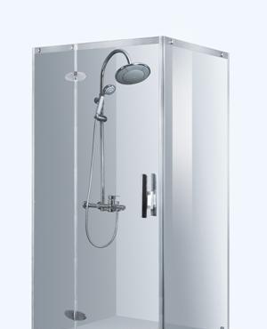 箭牌卫浴・瓷砖伦敦晨雾系列简易淋浴房AL018AL018