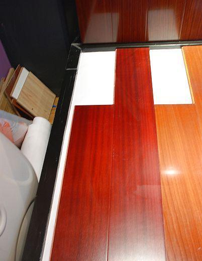柏瑞实木复合地板沙比利