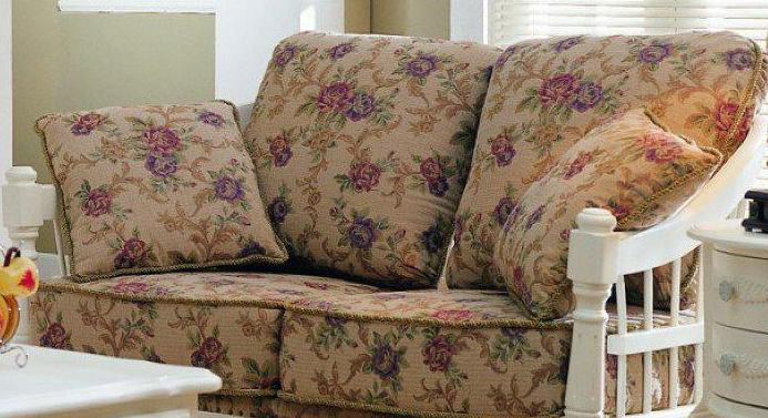 亨利美家W3-86双人沙发