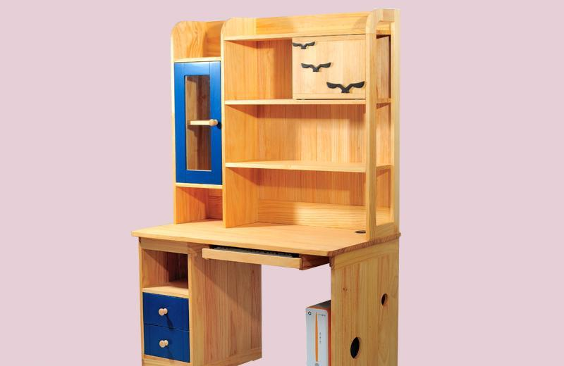 爱心城堡儿童家具书桌J019-DK1-NRJ019-DK1-NR