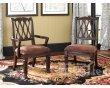 摩纳哥MONACO-布艺软座餐椅,布艺软座带扶手餐椅
