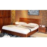 柏森A305卧室床+床头柜