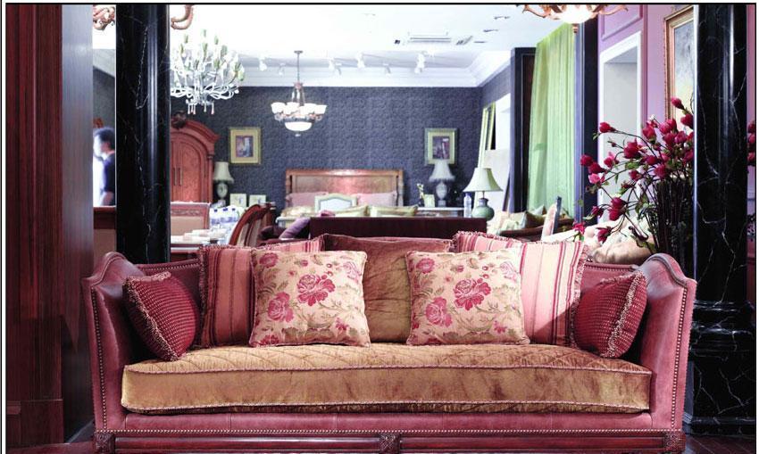 梵思豪宅客厅家具FH5096SF3p沙发FH5096SF3p