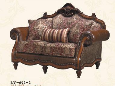 大风范家具路易十六客厅系列LV-692-2双人沙发LV-692-2双人沙发