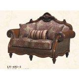 大风范家具路易十六客厅系列LV-692-2双人沙发