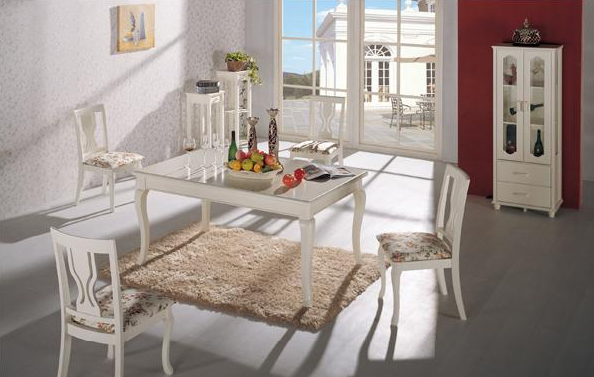 七彩年华欧乐雅餐桌(1600*950*760mm)
