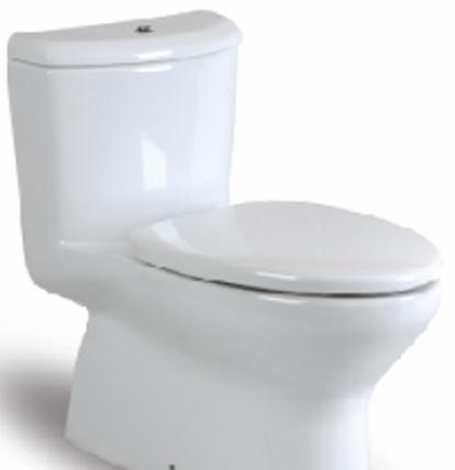 乐家卫浴乔治亚系列连体座厕(阻尼欧乐盖板)349434945G..0