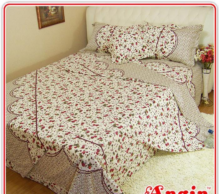 安寝家纺幽幽情高级斜纹床上用品四件套幽幽情