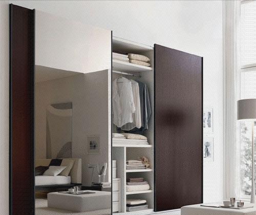 北山家居卧室家具移门衣柜2WB052B11-22WB052B11-2
