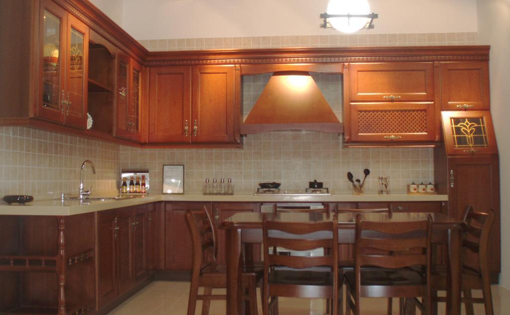 锦致橱柜-厨房家具白橡木