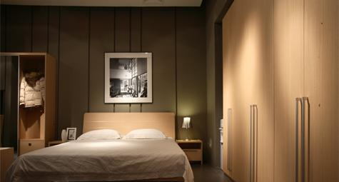 耐特利尔家具-原橡木系列-床1