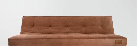 麦斯得尔卡萨布兰卡系列艾米s19沙发床(褐)s19