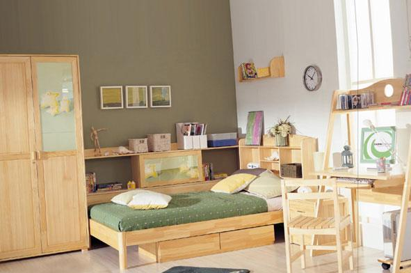 星星索S6206-12儿童书柜床S6206-12
