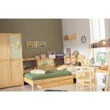 星星索S6206-12儿童书柜床