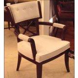 美凯斯客厅家具魅力摩登系列扶手椅M-C363W(白