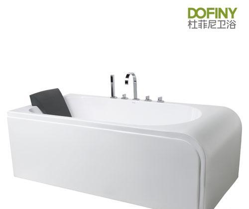 杜菲尼DW3760SQ五件套龙头浴缸DW3760SQ