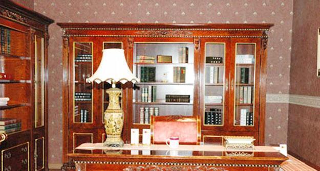 标致家具-凯欧丽斯系列-书房家具组合书房家具组合