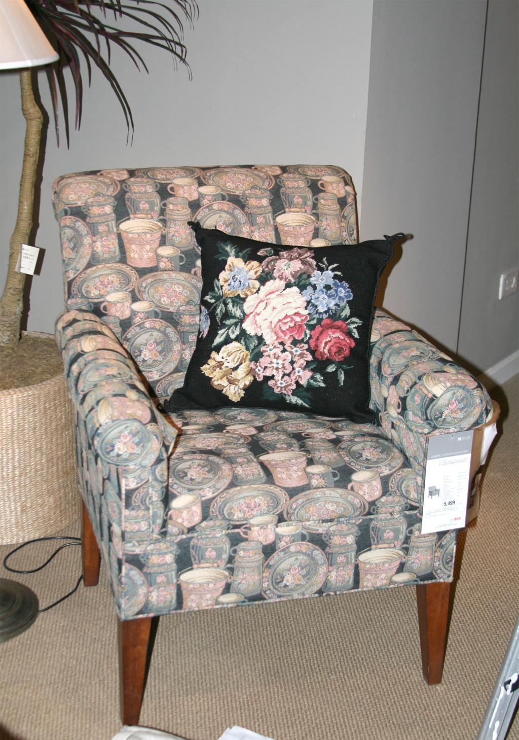 美克美家MK7508-3 4A18布艺单人沙发MK7508-3 4A18
