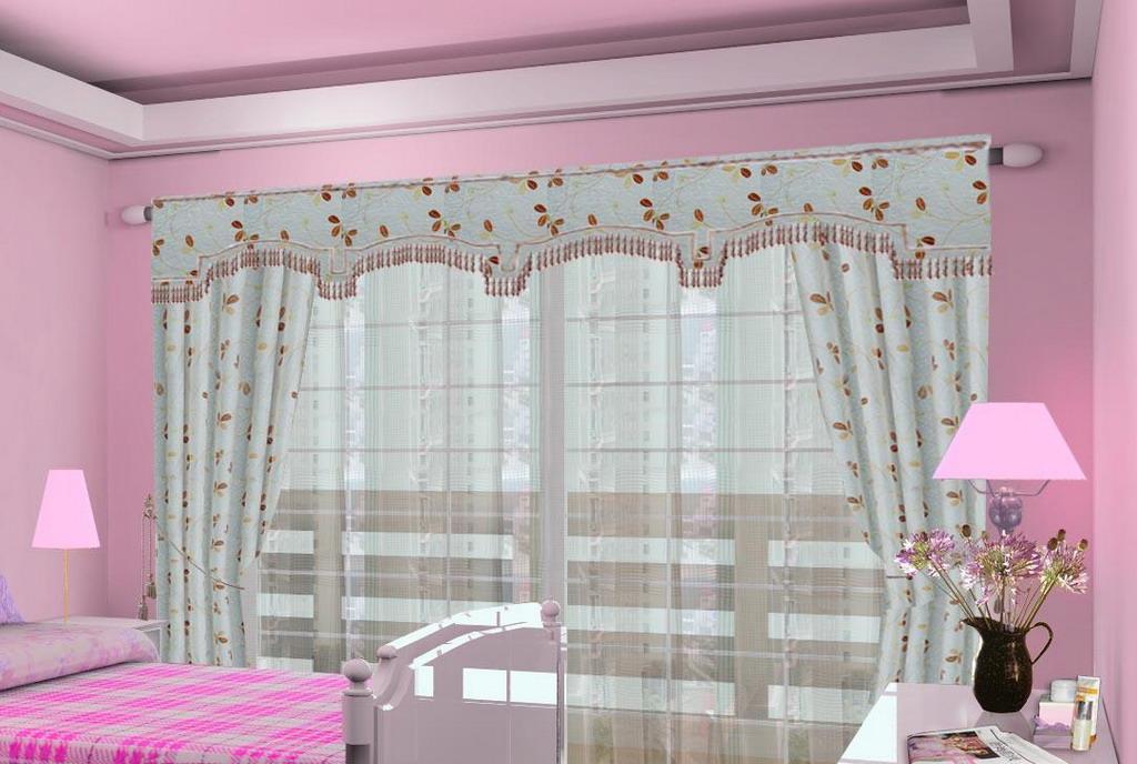 布易窗帘韩式小资系列晨曦中的豌豆花晨曦中的豌豆花