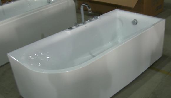 杜菲尼DW3708QR五件套龙头浴缸DW3708QR