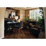 圣象新实木五层系列TS5105伯尔尼黑胡桃实木地板