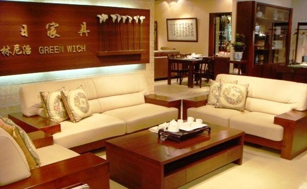 华日实木家具DSF253002B沙发DSF253002B