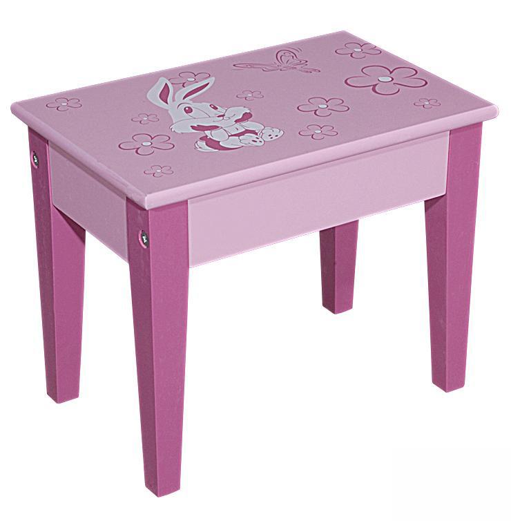 图图佳佳图图宝宝系列RJU00474小长凳子(粉色)