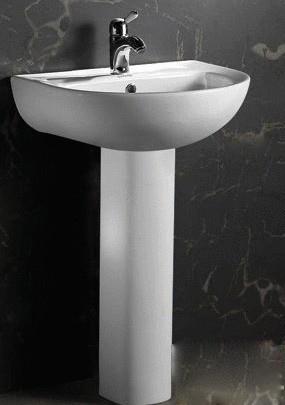 泰陶立柱盆TA-9308