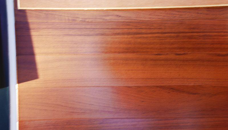 柏瑞实木复合地板柚木