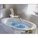 科勒-佩斯格独立式压克力按摩浴缸