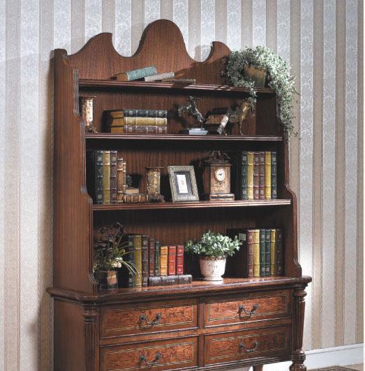 大风范家具路易十六书房系列LV-555小书柜LV-555小书柜