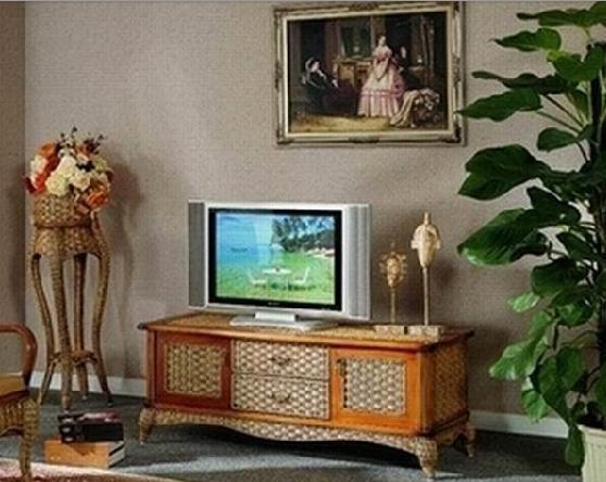 翡翠藤器TV柜5件套索菲亚