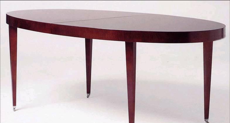 赛恩世家餐厅家具椭圆餐桌SP191(旧款)SP191