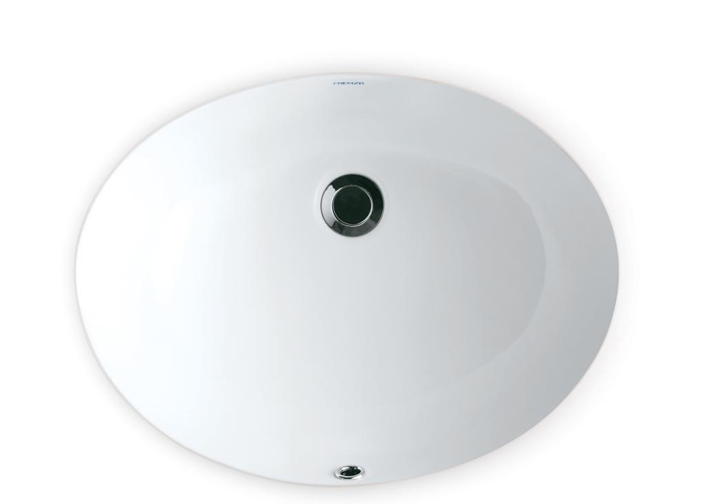 法恩莎台下盆FP4608B(白)FP4608B