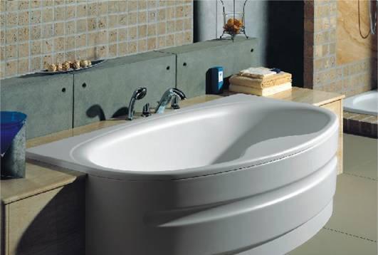乐家卫浴华兰椭圆形按摩浴缸2-47357..12-47357..1