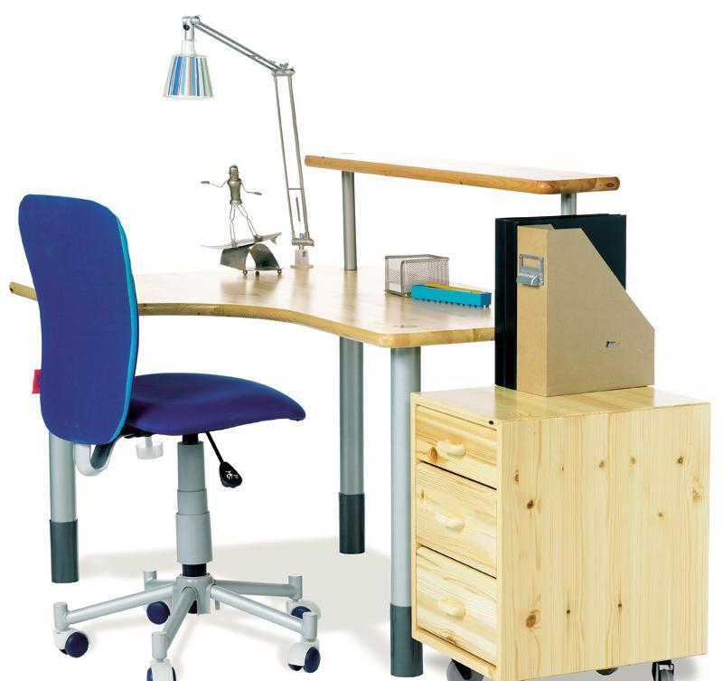芙莱莎儿童书桌组合7231213+7297013+70603013书桌组合7231213+7297.