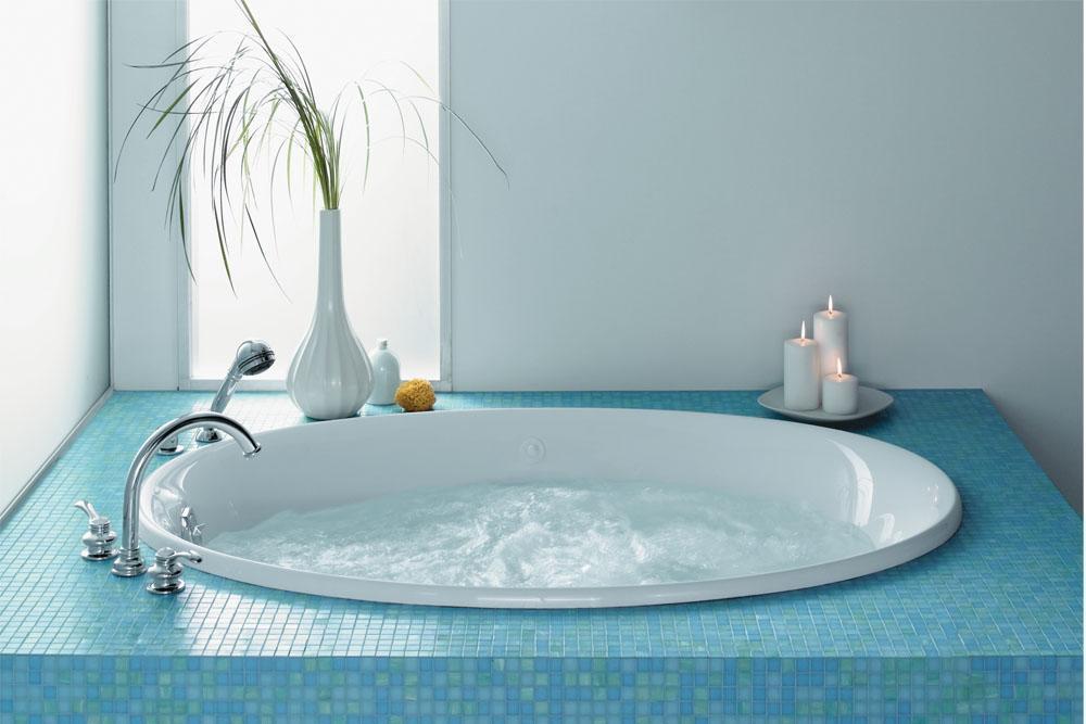 科勒-按摩浴缸-史瑞夫K-1337TK-1337T