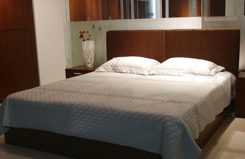 诺捷卧室家具床架8B007-B+8B101-B花梨木色8B007-B+8B101-B